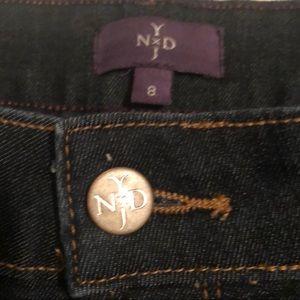 NYDJ Jeans - NYDJ Alina Ankle Jean Dark Wash 8